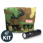 DJ KIT FILMA! Pouch con linterna FENIX RC11