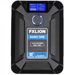 FXlion Nano ONE Batería Lithium V-Mount Ultra Compacta 50W/h 14.8V