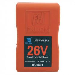 FXlion BP-7S270 Batería Lithium V-Mount 26V  270Wh/10A