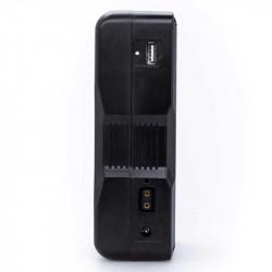 FXlion 2 Baterías Cool Black Lithium V-Mount 98W/h y cargador doble Fast Charger