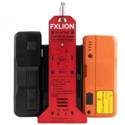 FXlion FX-4S7S2D Cargador Doble para Baterías  14,8 V / 26 V