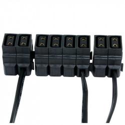 Cable Power Tap Extender PT a hembras P-Tap (D-Tap) de 1.5 metros