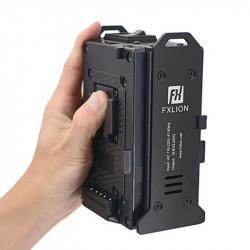 FXlion FX-M2S Cargador Traveler V-Mount 2 baterías