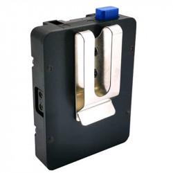 FXlion NANOL02 V lock Plate con gancho de agarrre