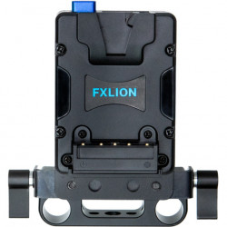 FXlion Placa V Mount ajustable para rods 15mm Nano
