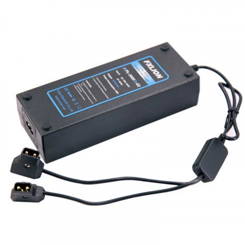 FXlion PL-3680Q-D2 2 Cargador Dual con cable D-Tap