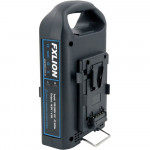 FXlion 2 Baterías Cool Black Lithium V-Mount 95W/h y cargador doble Fast Charger