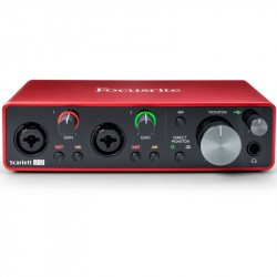 Focusrite Scarlett 2i2 2x2 USB Audio Interface (3ra generación)