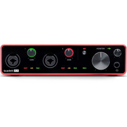 Focusrite Scarlett 4i4 4x4 USB Audio Interface (3ra generación)