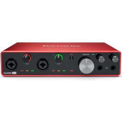 Focusrite Scarlett 8i6 8x6 USB Audio Interface (3ra generación)