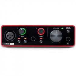 Focusrite Scarlett Solo 2x2 USB Audio Interface (3ra generación)