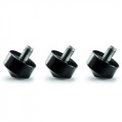 Gitzo GSF33 Pies de goma intercambiables Gitzo, 33mm, set de 3