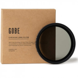 Gobe 2Peak Filtro ND2 Variable 52mm Neutral Density 1 a 8.66 Stops