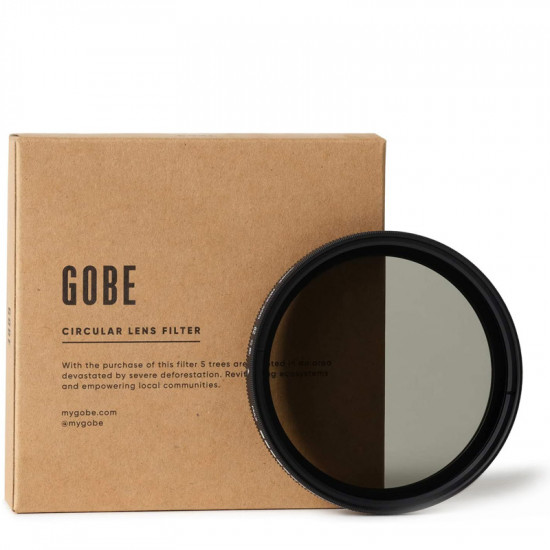 Gobe 2Peak Filtro ND Variable 62mm Neutral Density 1 a 8.66 Stops