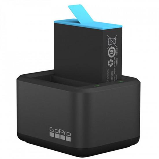 GoPro ADBAT-001 Cargador Dual y Batería recargable HERO9 Black
