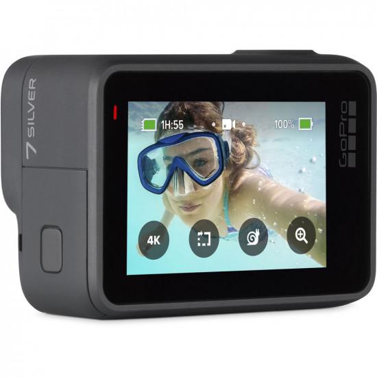 GoPro Hero7 CHDHC-601 Silver 4K a 30fps