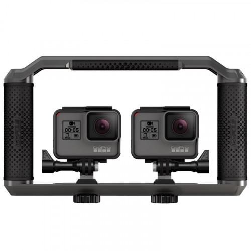 GoPole GPT-22 Triad Grip Soporte de agarre estable hasta 3 cámaras GoPro