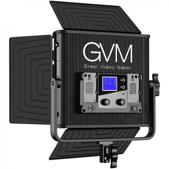 GVM GVM-50RS LED Soft Light Bi-Color & RGB