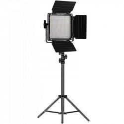 GVM 560AS Panel LED Soft Light Bi-Color con stand