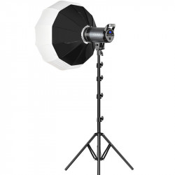 GVM LED bicolor G100W con Soft box lantern en kit