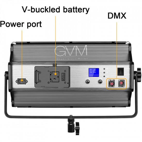 GVM MX150D Estudio Panel LED 150Watts 3200-5600K CRI/TLCI: 97+