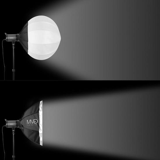 """GVM Lantern Globe LED para Bowens mount (26"""")"""