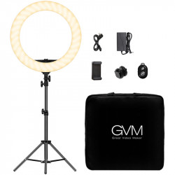"GVM Ring Light 18"" Bi-Color LED  97+ CRI HD-18S"