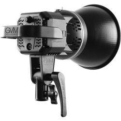 GVM LED Compacto LS-P80s 5600K con alto CRI de 97
