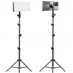 GVM RGB20W2K Kit de 2 LED Camera Light Bi-Color & RGB