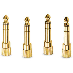 """Rode HJA-4 Adaptadores 3.5mm TRS a 1/4"""" (4 pack)"""