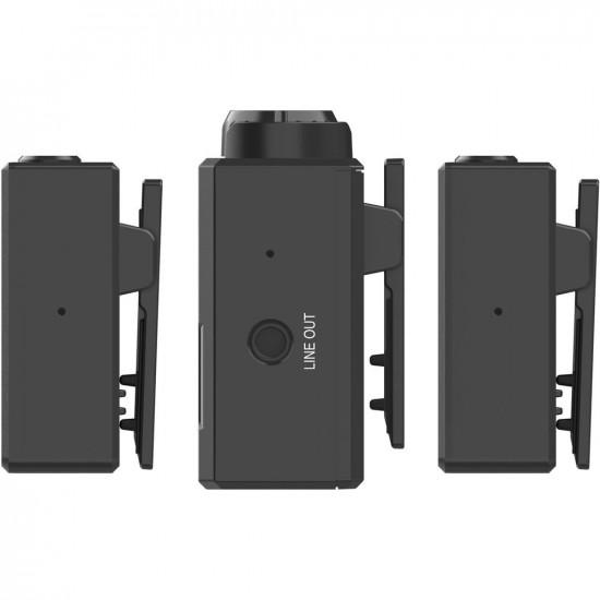 Hollyland Lark 150 Sistema de 2 Micrófonos Omni 2.4 digital