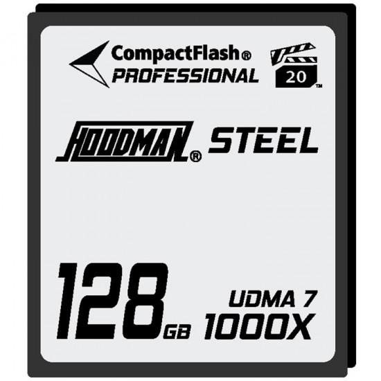 Hoodman HS7CF128 Tarjeta Compact Flash UDMA 7 RAW de 128GB 1000x