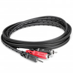 Hosa CMR-206 Cable Audio 1.8mts  3.5mm TRS  a 2 RCA Left/right