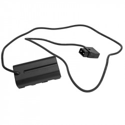 GyroVu Power P-Tap a NP-F Batería Dummy cable 75cm