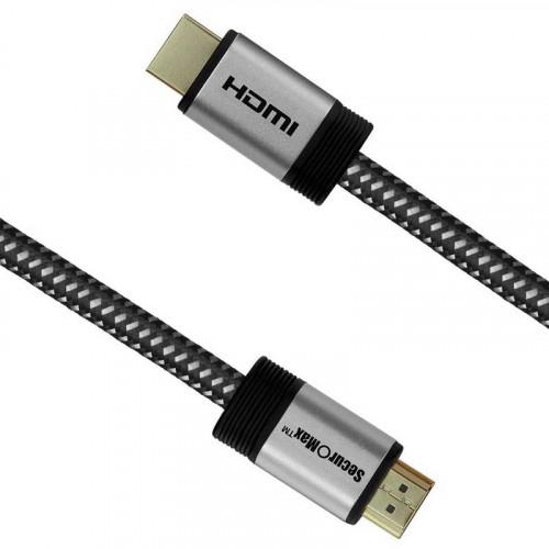 SecuroMax HDMI Cable  HDMI a HDMI 45cm 2.0 4K