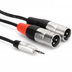 Hosa HMX-003Y Cable Stereo mini plug 3.5mm a 2 XLR Male Breakout (90cm)