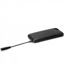 Hosa MHE-158 Cable TRRS 3.5mm delgado mini plug a TRRS (hembra)