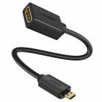 Cable HDMI macho a HDMI standard female (hembra) 4K Ugreen 45cm