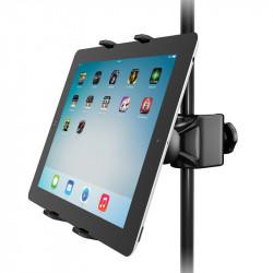 IK Multimedia iKlip Xpand Soporte para tablets y Ipad en pie de micrófono