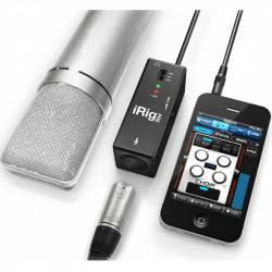 IK Multimedia IRig PRE Interfaz de micrófono XLR para IOS y Android
