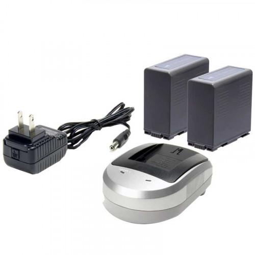 Ikan Kit CGA-D54 2 Baterías y cargador AC