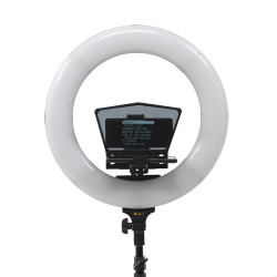 Ikan HS-PROMPTER RL Teleprompter HomeStream con Ring Light