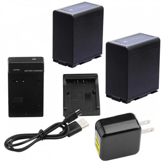 Ikan Kit CGA-D54 2 Baterías y cargador USB