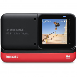 "Insta360 ONE R  Cámara VR 360° 4K ""Action Camera Twin Edition"