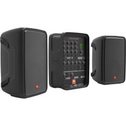 JBL EON208P Sistema PA bidireccional portátil con mezclador alimentado de 8 canales y Bluetooth