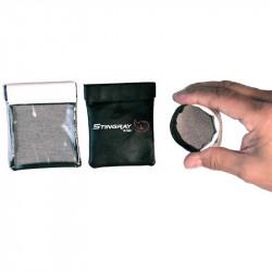 K-Tek KSLP1 Bolsito Stingray Lav Pouch para micrófonos Lavalier (3)