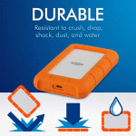Lacie 2TB Rugged USB 3.1 Tipo C