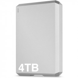 Lacie 4TB Movil Disco USB 3.1 Tipo-C para Mac o PC