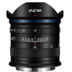 Venus Optics Laowa 17mm f / 1.8 MFT para Micro 4/3