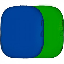 Lastolite Fondo Colapsable Tela Chroma Azul/verde  de 1.8 x 1.5 mts